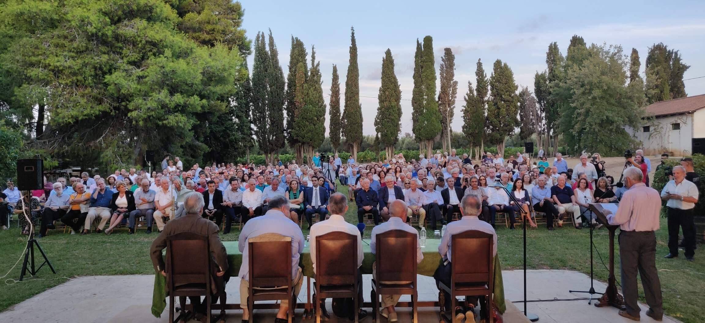 Ομιλία Κώστα Σημίτη στην παρουσίαση του βιβλίου του Γιάννη Βούλγαρη